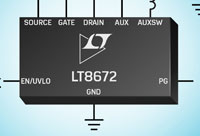 LT8672 Rectifier Controller with Reverse Protectio