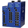 Managed Industrial PoE+ Ethernet Switches